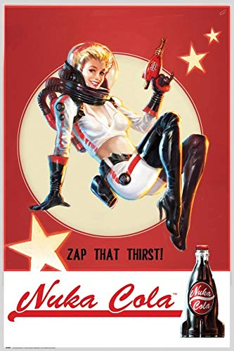 GB eye Fallout 4, Nuka Cola, Maxi Poster (61x91.5cm) from GB Eye Limited