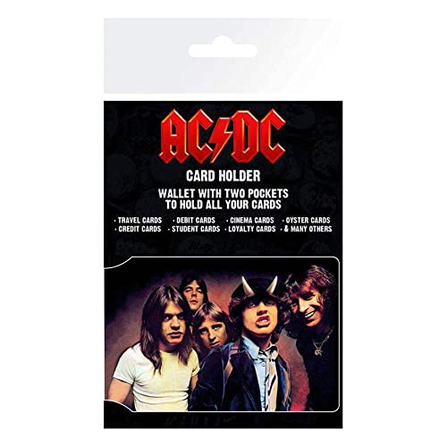 GB eye, AC/DC, Band, Card Holder, Various, 16x0.3x11 cm from GB eye