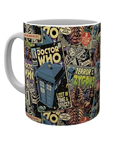 GB eye LTD, Doctor Who, Comic Books, Mug, Wood, Various, 15 x 10 x 9 cm from GB eye