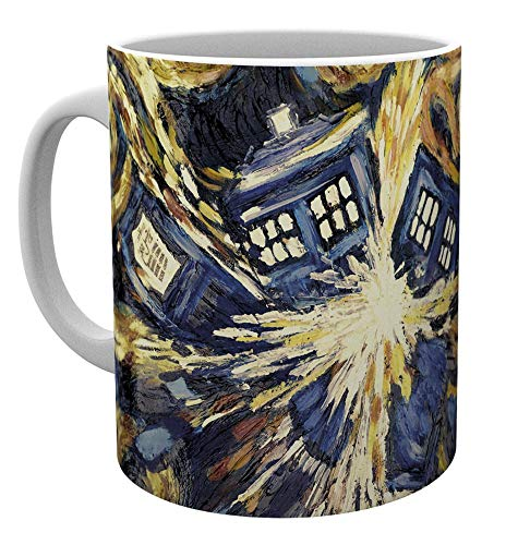 GB eye Ltd, Doctor Who, Exploding Tardis, Mug, Wood, Various, 15x10x9 cm from GB eye