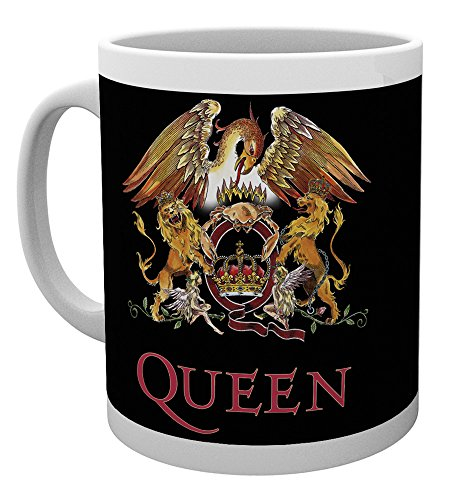 GB eye LTD, Queen, Colour Crest, Mug, Ceramic, Various, 15 x 10 x 9 cm from GB eye