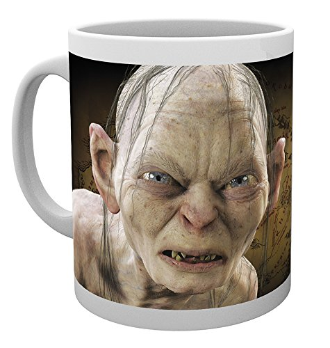 GB eye Lord of the Rings Gollum Mug, Multi-Colour from GB Eye Limited