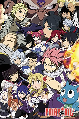 GB eye LTD, Fairy Tail, Season 6 Key Art, Maxi Poster 61x91.5cm, Wood, Various, 65 x 3.5 x 3.5 cm from GB Eye Limited