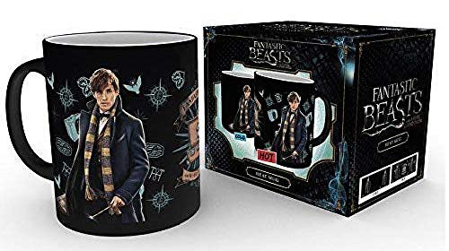 GB eye, Fantastic Beasts, Newt Scamader, Heat Changing Mug, Wood, Various, 15 x 10 x 9 cm from GB eye