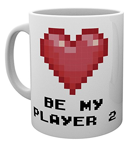 GB eye LTD, Valentines Player 2, Mug, Ceramic, Various, 15 x 10 x 9 cm from GB eye