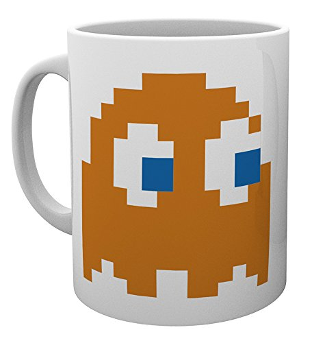 GB eye Pacman Clyde Mug, Wood, Multi-Colour from GB Eye Limited