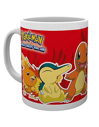 GB eye LTD, Pokemon, Fire Partners, Mug, Wood, Various, 15x10x9 cm from GB eye