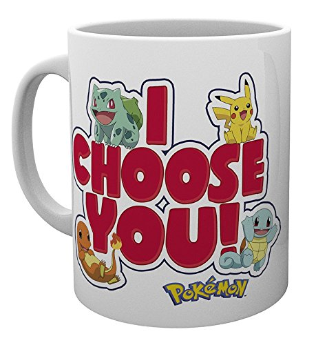 GB eye LTD, Pokemon, I Choose You, Mug, Wood, Multi-Colour, 15 x 10 x 9 cm from GB eye