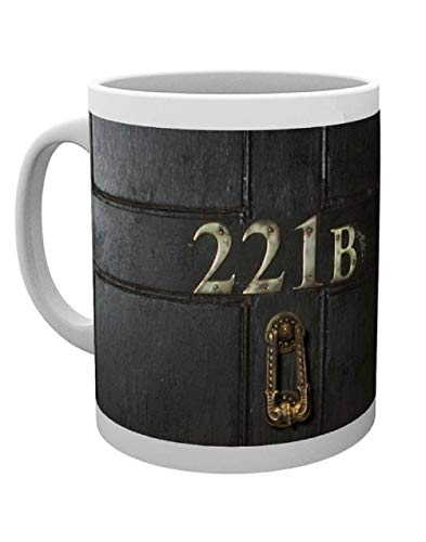 GB eye LTD, Sherlock, 221B, Mug, Wood, Various, 15 x 10 x 9 cm from GB Eye Limited