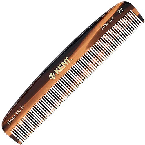 Kent Handmade Small Fine Toothed Pocket Hair Comb, 13.9 cm Length from KENT