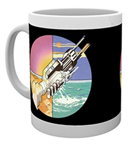 GB eye Limited Pink Floyd Wish You Were Here Mug, Multi-Colour from GB Eye Limited