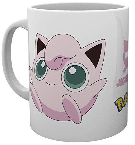 GB eye Pokemon Jigglypuff Mug, Multicolour, 15 x 10 x 9 cm from GB eye