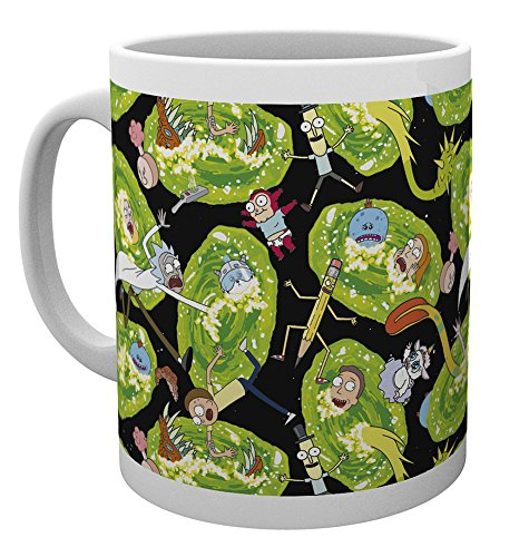GB eye Rick and Morty, Portals, Mug, Various from GB eye Ltd