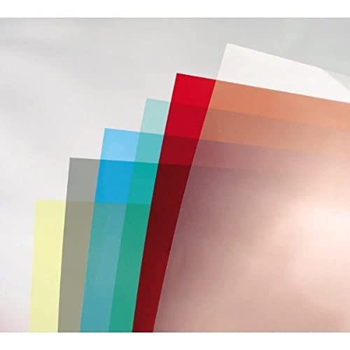 GBC 180 Micron ColorClear Binding Cover Red A4 - Pack of 100 from GBC
