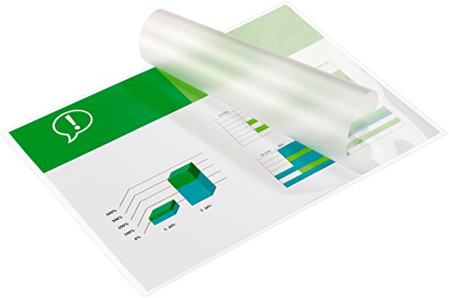 GBC A4 2x250 Micron Gloss Laminating Pouches, Pack of 100, IB586040 from GBC