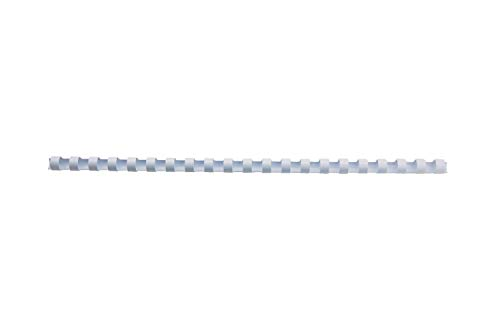GBC CombBind Binding Combs, 12 mm, 95 Sheet Capacity, A4, 21 Ring, White, Pack of 100, 4028197 from GBC