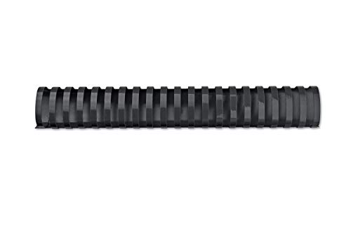 GBC CombBind Binding Combs, 45 mm, 390 Sheet Capacity, A4, 21 Ring, Black, Pack of 50, 4028186 from GBC