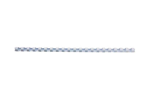 GBC CombBind Binding Combs, 6 mm, 25 Sheet Capacity, A4, 21 Ring, White, Pack of 100, 4028193 from GBC