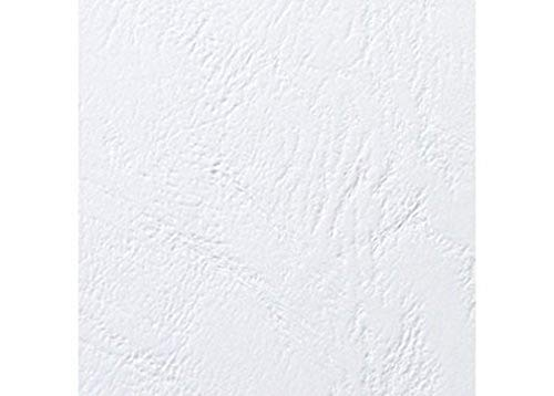 GBC LeatherGrain Binding Covers 250gsm A5 White (Pack of 100) from GBC