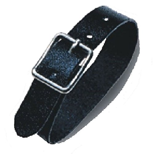 GBC Leatherstraps 120 mm x 10 mm Pack of 100, Black from GBC