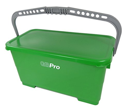 GBPro 24 Litre Window cleaners/Floor cleaning bucket with water tight lid from GBPro