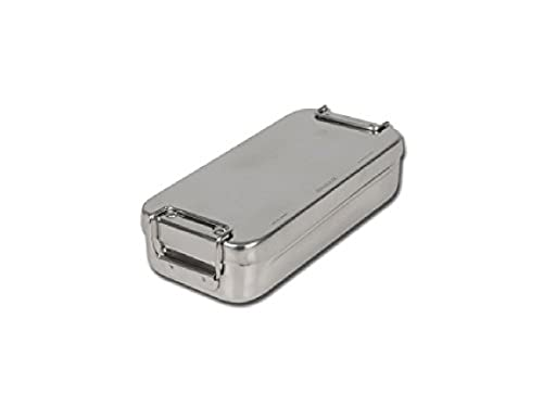GIMA S.p.A 26668 Stainless Steel Box with Handle, 18 cm x 8 cm x 4 cm from GIMA S.p.A