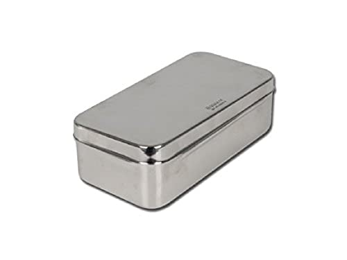 GIMA S.p.A 5868 Stainless Steel Box, 20 cm x 10 cm x 6 cm from GIMA S.p.A