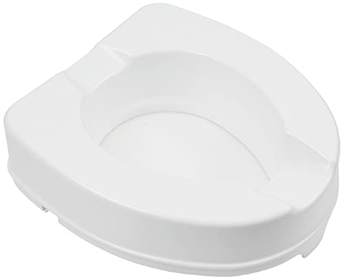GIMA S.p.A AR-10-PP-11 Raised Toilet Seat With Fixing System - Height 10 cm from GIMA S.p.A
