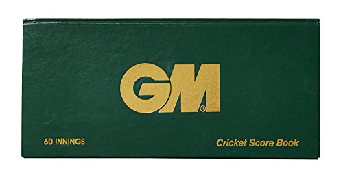 GM 60 Innings Scorebook - Green, 60 Innings from GM Cricket