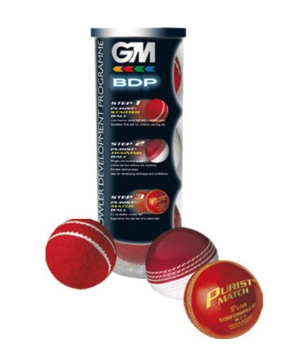 GM Bowling Development Programme 3 Cricket Ball Pack from Gunn & Moore