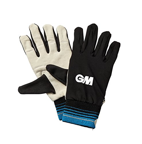 GM Boy Inner Gloves - Chamois Palm Inner Gloves - Black, Youths from GM Cricket