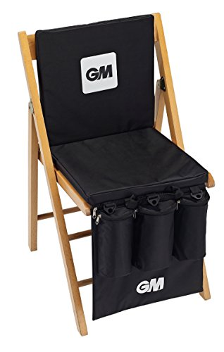 GM Cricket Unisex's Gunn and Moore Easi-Seat Bag-Black, One Size from GM Cricket