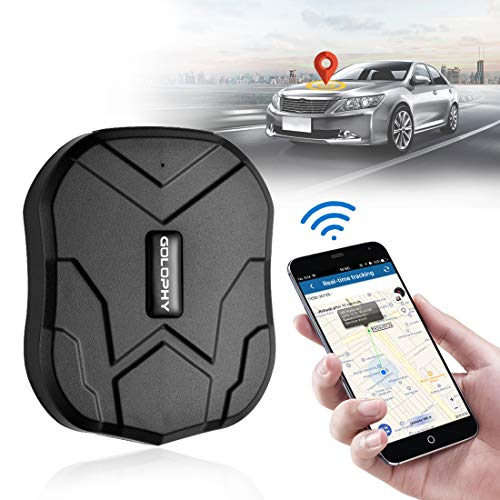GOLOPHY GPS Tracker-Real Time Locator Accurate Tracking for Motorcycle Car Truck Vehicle Van Free Fee Strong Magnet Monitoring Waterproof Worldwide Anti-Lost Geo-Fence Remove Alarm 5000/10000mAh TK905 from GOLOPHY