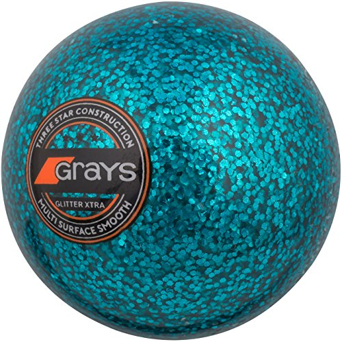 GRAYS Unisex's Glitter Xtra Ball, Teal Blue, 5.5 oz from GRAYS