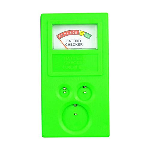 Universal 3V 1.55V AA/AAA Cell Button Battery Tester Checker Tool Accuracy - Green from GREENLANS-1