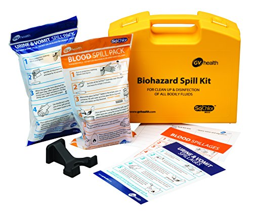 GV Health Biohazard/Bodily Fluid Multi Spill Kit contains Blood Pack and Urine Vomit from GV Health