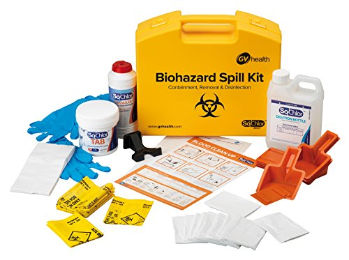 GV Health Biohazard and Bodily Fluid Multi Spill Kit - Pack of 10 from GV Health