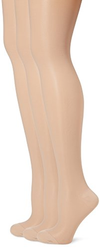 GABRIALLA 23-30 mmHg Queen Nude H-340 Maternity Pantyhose Compression - Pack of 3 from Gabrialla