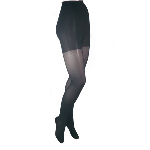 GABRIALLA 23-30 mmHg Queen Plus Black H-330 Sheer Pantyhose Compression - Pack of 3 from Gabrialla