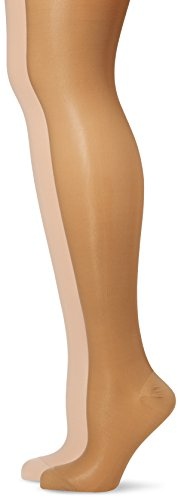 GABRIALLA 23-30 mmHg Tall Beige/Nude H-340 Maternity Pantyhose Compression - Pack of 2 from Gabrialla