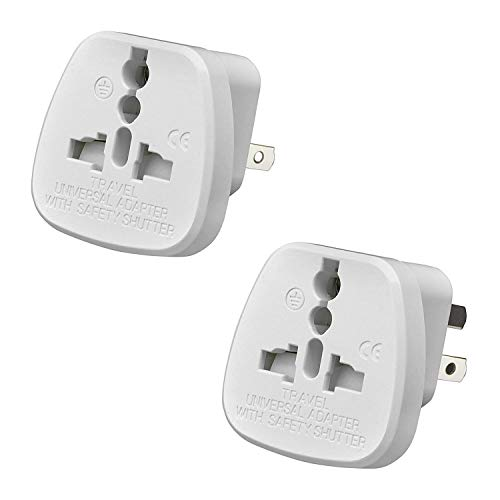 Gadgets Hut UK - 2 x UK to Australia Travel Adapter, Plugs for visitor from UK to China, Australia and New Zealand from Gadgets Hut UK