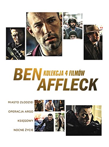 Ben Affleck Collection: The Town / Argo / Live by Night / The Accountant [4DVD] (English audio. English subtitles) from Galapagos