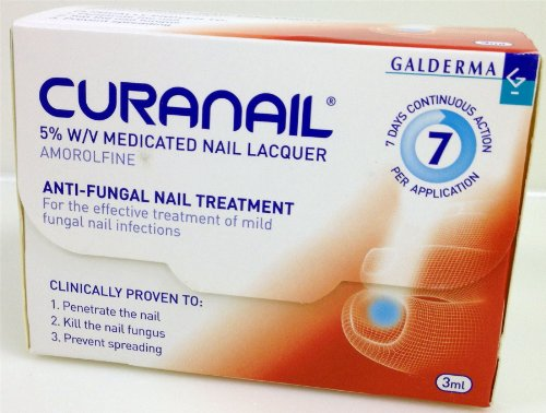 NEW Curanail 5% w/v Medicated Nail Lacquer 3ml from Galderma