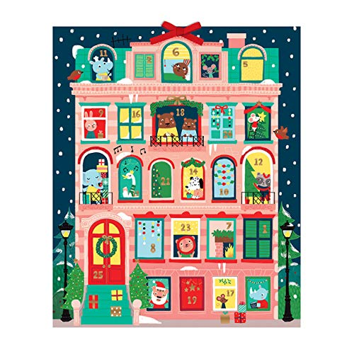 Christmas Apartment Advent Calendar (Advent Calendars) from Galison Mudpuppy