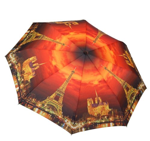 Galleria Paris City of Lights Folding Umbrella from Galleria