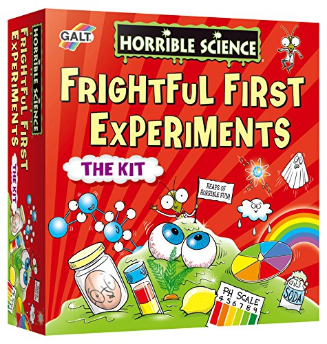 Galt Toys 1105470 Horrible Science, Frightful First Experiments from Galt Toys