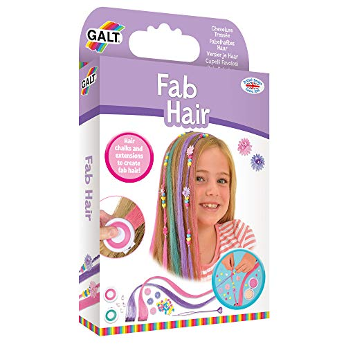 Galt Toys Fab Hair, extensions and Hair Chalk Kit for Children from Galt Toys