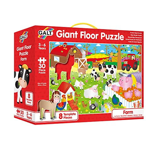 Galt Toys Giant Floor Puzzle Farm from Galt Toys