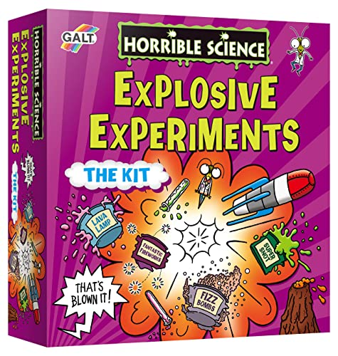 Galt Toys Horrible Science Explosive Experiments from Galt Toys