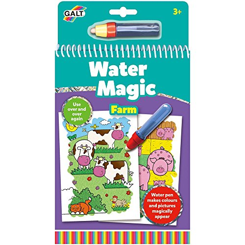 Galt Toys Water Magic Farm, Colouring Book for Children from Galt Toys